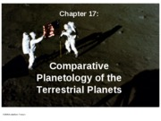 Ch 17 (The Terrestrial Planets)-1