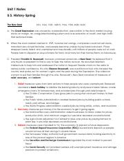 Unit 1 Notes_U S  History_Spring