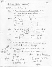 Nonlinear Functions and Quadratic Functions