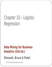 Chapter 10 Logistic Reg.ppt