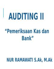 AUDITING II NR 1.ppt