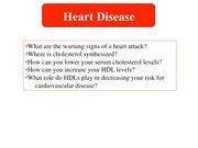 BCH 212 - Lecture 6.2 Heart Disease