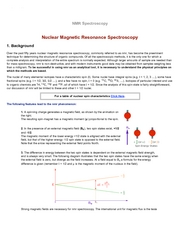 NMRSpectroscopy(A)