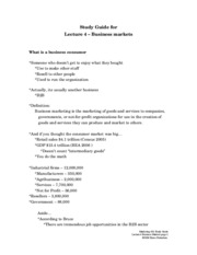Study_Guide_for_lecture_4_-_business_markets