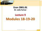 2001 Lecture 9