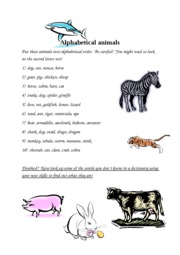 alphabetical_animals