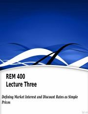 REM400_Lec03_Defining Market Rates as Prices.ppt