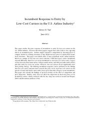 30362-Incumbent-Response-to-Entry-by-Low-Cost-Carriers-in-the-US-Airline-Industry.pdf