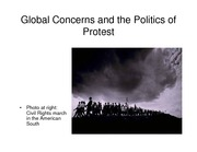 Lecture 18 Global Concerns and the Politics of Protest pdf version
