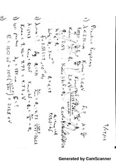 Compton Scattering Notes