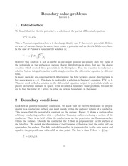 Lecture 5 on Mathematical Methods 1