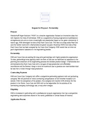 ENGL312 Request for Proposal Letter