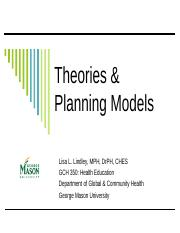 Chapter 4 Theories & Planning Models.ppt