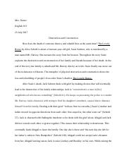 The Lovely Bones Essay Eng 101.docx
