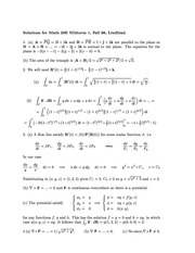 Vector Calc Practice Midterm-Answers 20e 2