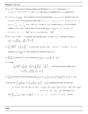 MATH 1271 Spring 2013 Homework Assingment 11.2 Solutions