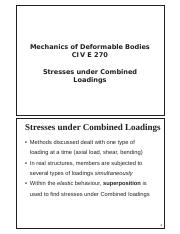 Week 9 Stresses under combined loadings.pdf