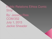 the application of ethics in public relations
