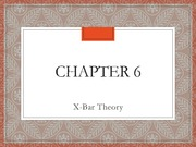 Chapter 6 Slides - LING 461 Summer 2014