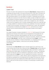 negative symbols essay