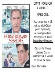 extraordinary measures movie questions