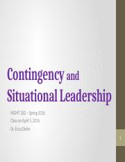 S16__ch 5__situational contingency leadership__4.5.16