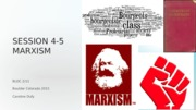 Session 4-5 Marxism students