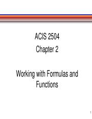 ACIS 2504 Chapter 2 PowerPoint Slides Fall 2019.pdf