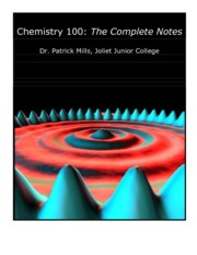 Chemistry 100 Complete Notes