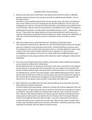 Beautiful mind essay