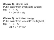Chemistry - Chapter 5 - 2