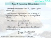 numerical_differentiation