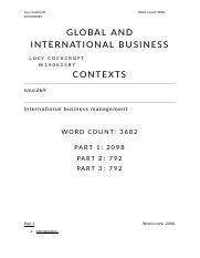 sm0269 assignment A large number of references or if you want to organise references to reflect, for example, chapters in your thesis, dissertation, by assignment, journal article.