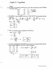 Chapter 6 Capacitors (Exam 2 Solution).pdf