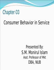 Chapter 03_Consumer behavior in services.ppt