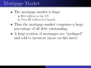 21.Mortgage Overview