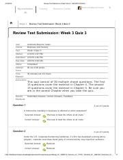 review test submission week 3 3/8/16 quick-start guide for new a-g course submissions before you begin a-g review new courses are generally reviewed within two to four weeks of submission however.