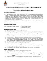 Summary Notes #3_Inventory Valuation  Control.pdf