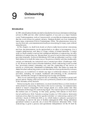 ch10 - outsourcesing
