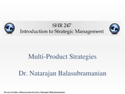 Multiproduct Strategies(3)