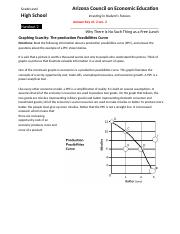 Handout 2: Production Possiblities Curve ch. 2 Answer Key