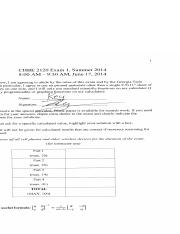 chbe2120Summer2014Exam1Solutions