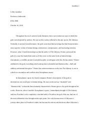 Essay for ENG 2800