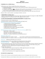 421_Study guide