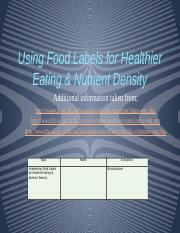 Lecture3-FoodLabelsNutrientDensity-students