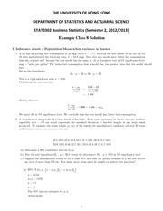 Tutorial 8 solutions