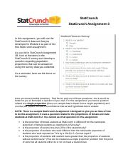StatCrunch Assignment 3.docx