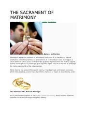 THE SACRAMENT OF MATRIMONY.docx