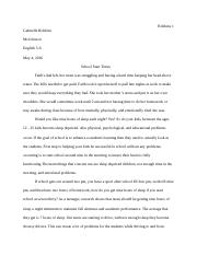 Argumentative Paper Junior English