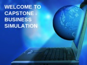 CAPSTONE Introduction 2009